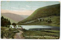 GLENDALOUGH : LOWER LAKE / POSTMARK - BRAY - Wicklow