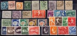 Pays-Bas Petite Collection D'anciens Neufs **/* Et Oblitérés Entre 1852 Et 1948. Bonnes Valeurs. B/TB. A Saisir! - Pays-Bas