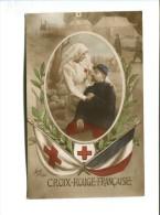 Cp - Croix Rouge Française - (Infirmière De La Croix Rouge Au Près D'un Soldat) - Rotes Kreuz