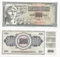 Yugoslavia 1000 Dinara 1974. UNC P-86  X 20 Pcs For Dealers - Yougoslavie