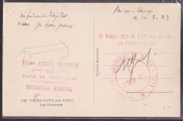 Cachets Militaires - Lettre - Marcophilie (Lettres)