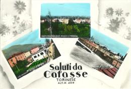 SALUTI DA CAFASSE TORINESE (TO) - VEDUTINE - F/G - V:1968 - Italy