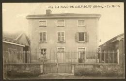 LA TOUR De SALVAGNY La Mairie () Rhône (69) - Autres Communes
