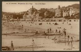 LE HAVRE Carte Photo Perspective De La Plage (G.F) Seine Maritime (76) - Le Havre
