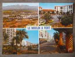 PERPIGNAN (66). MULTIVUE : VILLE NOUVELLE DU MOULIN A VENT . ANNÉES 1980.TBE. - Perpignan