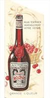 Marque Pages Cherry Rocher Eternise Le Temps Des Cerises Des Années 1960 - Segnalibri