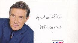 DEDICACE JEAN PIERRE FOUCAULD - Autographes