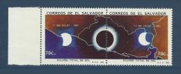 Salvador 1991 **  Eclipse Totale Du Soleil De Sol - Astronomie