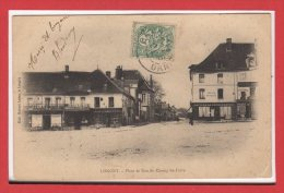 61 - LONGNY --  Place Et Rue Du Champ De Foire - Longny Au Perche