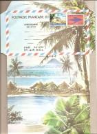 Polinesia Francese - Areogramma Nuova Da 50 Franchi - Aerogramma