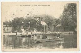 Nogent-sur-Seine (10;Aube)  Jolainville - Quai D'embarquement - Nogent-sur-Seine