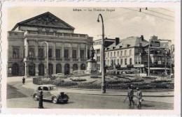 Cpa LIEGE  LE THEATRE ROYAL - Herstal