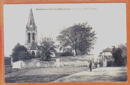 Carte Postale 78. Conflans-Sainte-Honorine  Place Gévelot   Trés Beau Plan - Conflans Saint Honorine
