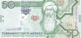TURKMENISTAN P. 26 50 M 2009 UNC - Turkménistan