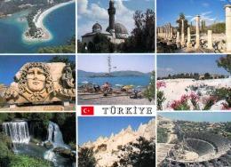 Mehrbilderkarte TÜRKEI - 2 Sondermarken - Türkei