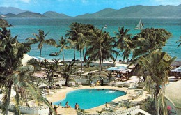 ST.THOMAS (Amerikanischen Jungferninsel) Pineapple Beach Resort 1973 - 2 Marken, Kleinformat - Jungferninseln, Amerik.