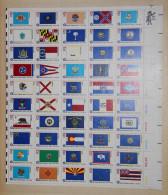 (G001) USA - Bicentennial - Bicentenaire - 50 States Flag - Drapeaux Des 50 Etats - Etats-Unis
