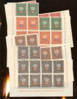 10 Séries **  Service    Faciale 83 Francs Suisses - Liechtenstein
