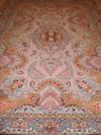 PERSIAN CARPET Persia Precious Tabriz ENTIRELY HAND KNOTTED 314X210 QUALITY 'EXTRA FINE WOOL + SILK - Tapis & Tapisserie