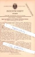 Original Patent - Otto Helsig In Chemnitz , 1883 , Holz-Erzeugnisse, Geräthe Und Maschinen !!! - Historische Dokumente