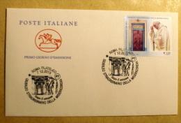 ITALIA 2015 - GIUBILEO STRAORDINARIO DELLA MISERICORDIA FDC 2 - F.D.C.