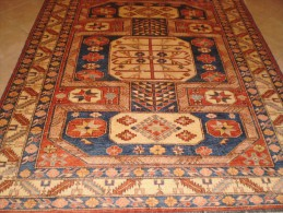 EXEMPLARY ORIGINAL GHAZNI ENTIRELY HAND KNOTTED QUALITY 'WOOL ON WOOL EXTRFINE - Tapis & Tapisserie