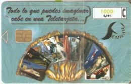 CP-154 TARJETA  ALBUM FERRARI DE TIRADA 4500  ¡¡VALOR FACIAL!! NUEVA-MINT - Espagne