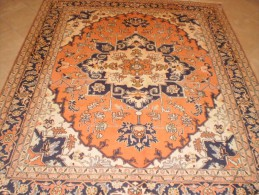 EXEMPLARY ORIGINAL PERSIAN PERSIANO ARDEBIL ENTIRELY HAND KNOTTED QUALITY 'ON COTTON WOOL - Tappeti & Tappezzeria