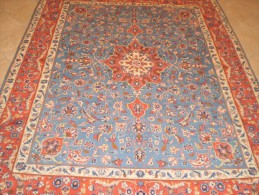 ORIGINAL COPY PERSIAN PERSIA CARPET YAZD ENTIRELY HAND KNOTTED QUALITY 'ON COTTON WOOL EXTRA FINE - Rugs, Carpets & Tapestry