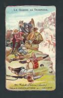 L1851 - Chromo XIXem Gaufrée Chocolat DE L´UNIVERS - La Guerre Du Transvaal N° 34 - Suchard