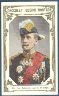 Chromo Chocolat Guerin-Boutron Livre D´or Célébrités Contemporaines 186 Général Dalstein Médaille Du Tonkin 6e Corps - Guerin Boutron