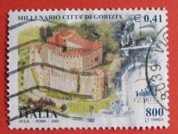 ITALIA USATI 2001 - MILLENARIO CITTA´ DI GORIZIA - SASSONE 2540 - RIF. G 0055 LUSSO - 6. 1946-.. Repubblica