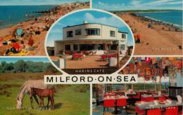 MILFORD ON SEA    MARINE  CAFE  HURST  ROAD       (NUOVA) - Inghilterra