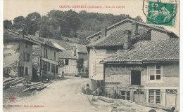 XX 853 / C P A  -   CHATEL-CHEHERY    (08)  RUE DU GOULET - Altri Comuni