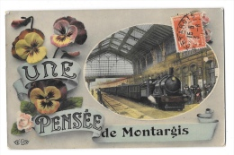 (6986-45) Une Pensée De Montargis - Montargis