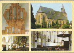 NL.- Aalten. .Ned. Herv. Kerk. Interieur. Orgel. Preekstoel. 2 Scans - Aalten