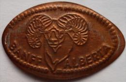 1 CENT BANFF Alberta  Elongated Coins  Pennies USA - Elongated Coins