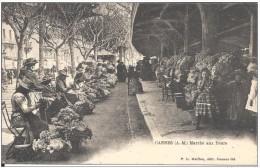 CPA  CANNES  MARCHE AUX FLEURS 1903 ( Dos Simple ) - Cannes