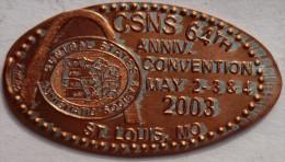 1 CENT  St.Louis  Elongated Coins  Pennies USA - Elongated Coins