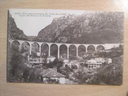 Vue Panoramique Du Pont Du Loup - Ligne Du Sud De La France - France