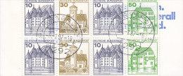 BRD Markenheftchen MH 22 Ad K2 OZ, Gestempelt: Baiersbronn 6.7.1987, Burgen Und Schlösser 1984 - [7] République Fédérale