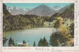 Der Frebergsee Bei Oberstdorf   - Scan Recto-verso - Oberstdorf