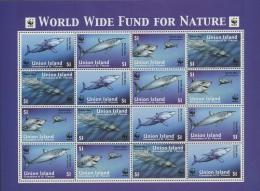 St. Vincent - Grenadinen/Union 2002 WWF Haie 269/72 Klb Postfrisch (C21980) - St.Vincent Y Las Granadinas