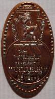 1 CENT PAN  Elongated Coins  Pennies USA - Elongated Coins