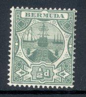 BERMUDA, 1906 ½d Green Very Fine MM, SG36, Cat £21 - Bermuda