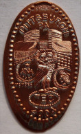 1 CENT TEC 2004  Elongated Coins  Pennies USA - Elongated Coins