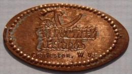 1 CENT Sternwheel  Elongated Coins  Pennies USA - Elongated Coins