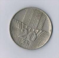 20 Zł 1973 - Pologne-Poland - Pologne