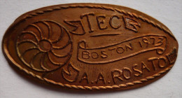 1 CENT TEC 1973   Elongated Coins  Pennies USA - Elongated Coins