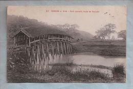CPA - Annam - Vinh - 911. Pont Couvert, Route De Xa-Lam - Vietnam